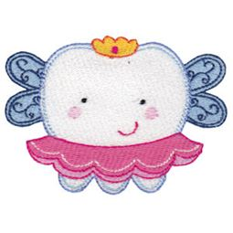 Filled Stitch Girl Fairy Tooth
