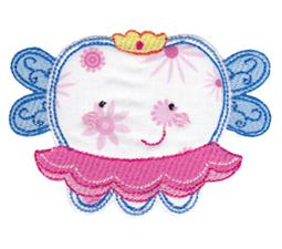 Applique Girl Fairy Tooth