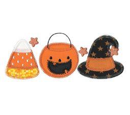 Halloween Trio Applique