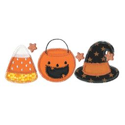 Halloween Trio Applique