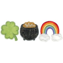 St Patricks Day Trio Applique