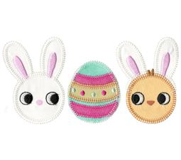 Easter Trio Applique