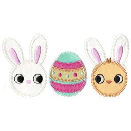 Easter Trio Applique