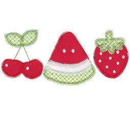 Fruit Trio Applique