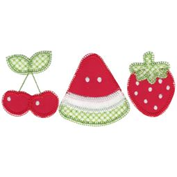 Fruit Trio Applique