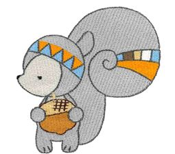 Tribal Squirrel