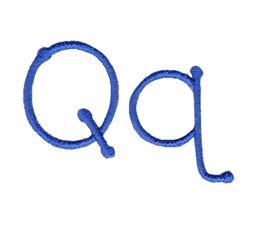 True Colors Font Q