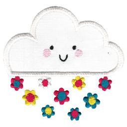 Applique Flower Cloud