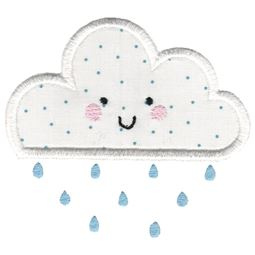 Applique Rain Cloud