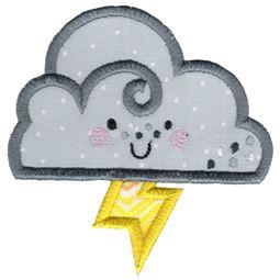 Applique Storm Cloud