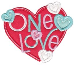 One Love Applique