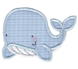 Whales and Sharks Applique 1