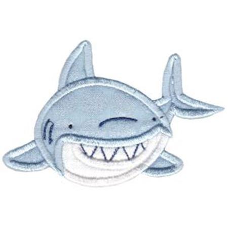Applique Shark Front On