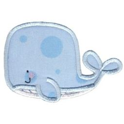 Applique Boy Whale
