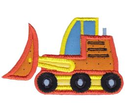 Bulldozer Applique