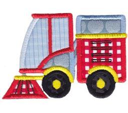 Street Cleaner Truck Applique