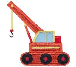 Crane Truck Applique