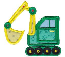 Excavator Applique