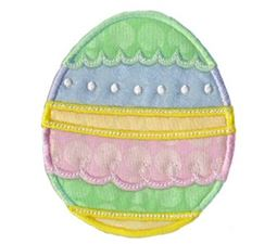 A Cute Easter Applique 13