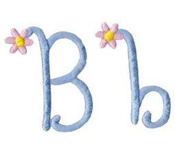 A Daisy Day Alphabet B