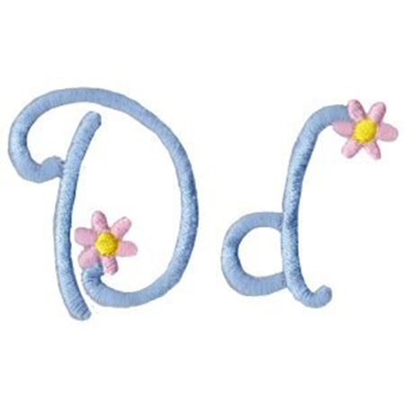 A Daisy Day Alphabet D