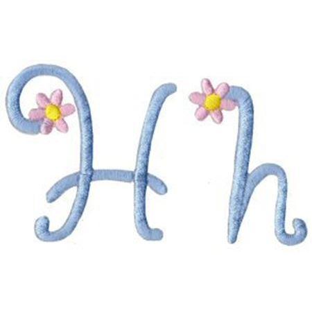 A Daisy Day Alphabet H