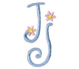 A Daisy Day Alphabet J
