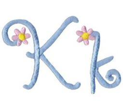 A Daisy Day Alphabet K