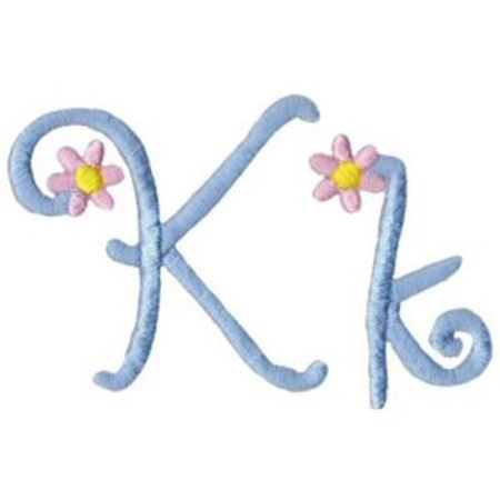 A Daisy Day Alphabet K