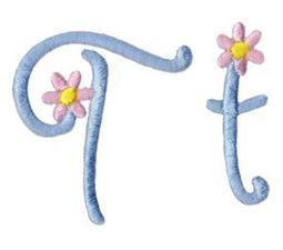 A Daisy Day Alphabet T