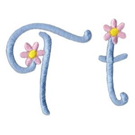 A Daisy Day Alphabet T