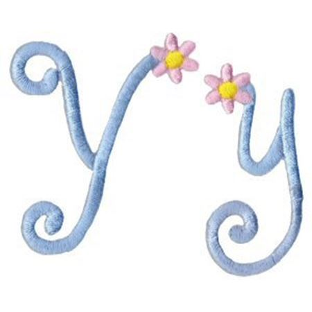 A Daisy Day Alphabet Y