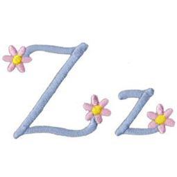 A Daisy Day Alphabet Z
