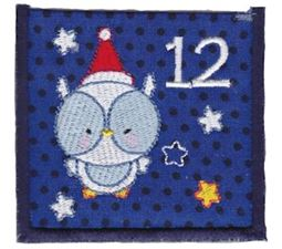 Christmas Owl Pocket