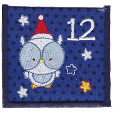 Christmas Owl Pocket