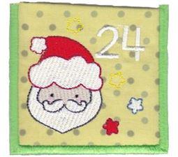 Santa Face Pocket