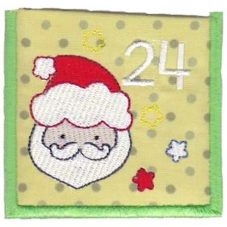 Santa Face Pocket