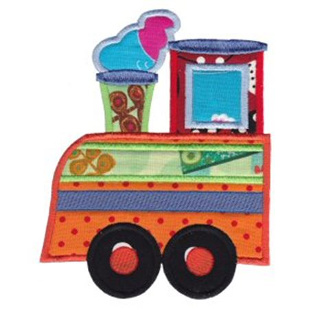 All Aboard Applique 10