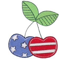 Patriotic Cherries