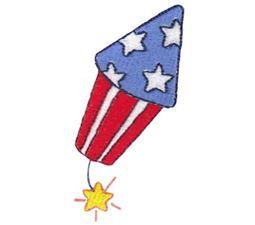Patriotic Firecracker