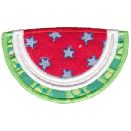 Patriotic Watermelon Applique