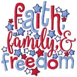 Faith Family And Freedom