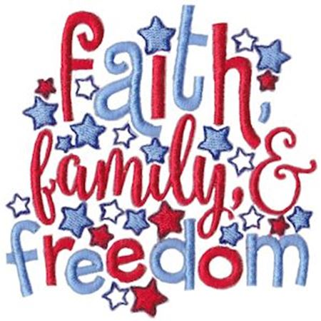 Faith Family And Freedom