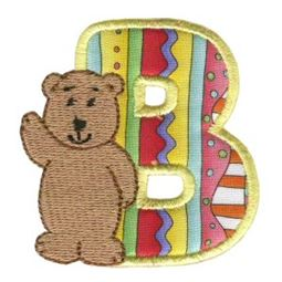 Animal Alphabet Applique B