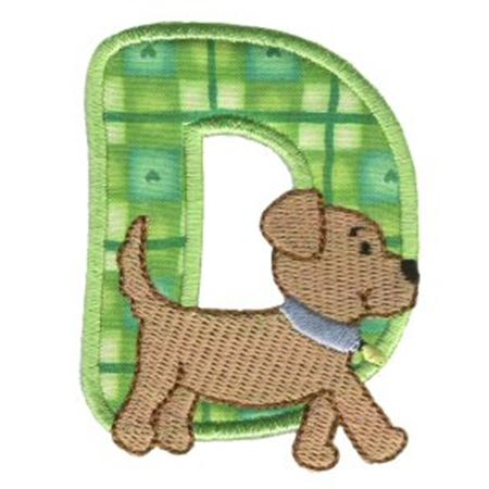 Animal Alphabet Applique d