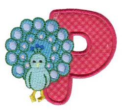 Animal Alphabet Applique p