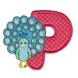 Animal Alphabet Applique p