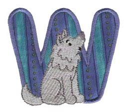 Animal Alphabet Applique w