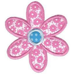 Applique Daisy Flower