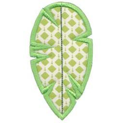 Applique Leaf